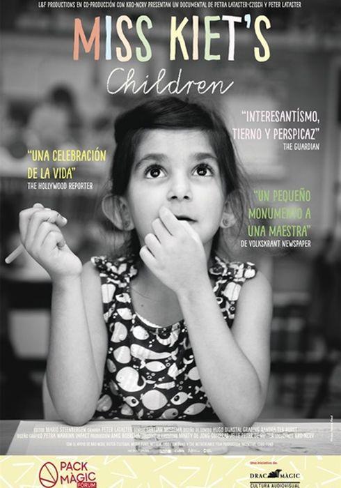 Cartel oficial en español de: Miss Kiet's Children