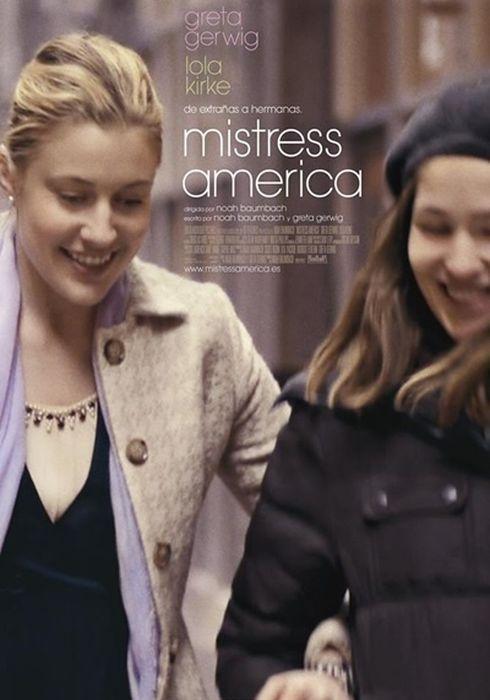 Cartel oficial en español de: Mistress America