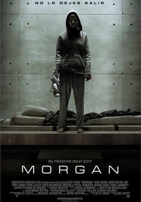 Cartel oficial en español de: Morgan