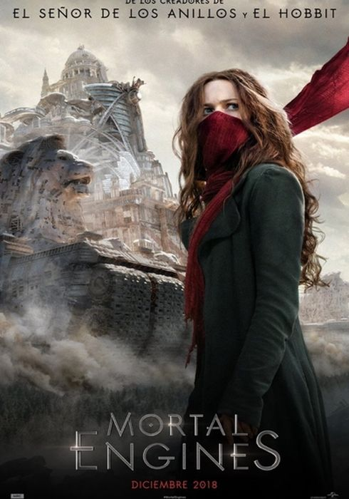 Cartel oficial en español de: Mortal Engines