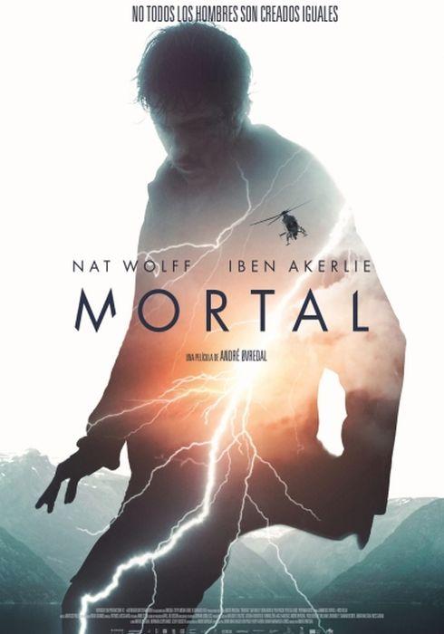 Cartel oficial en español de: Mortal