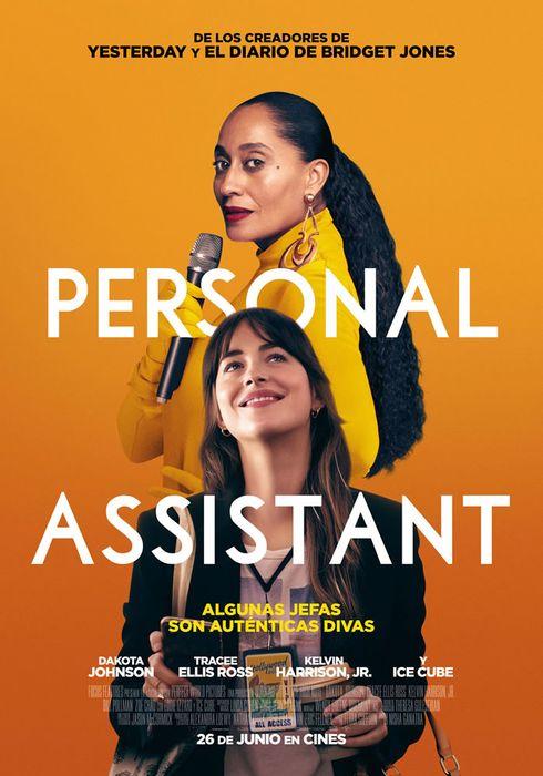 Cartel oficial en español de: Personal Assistant