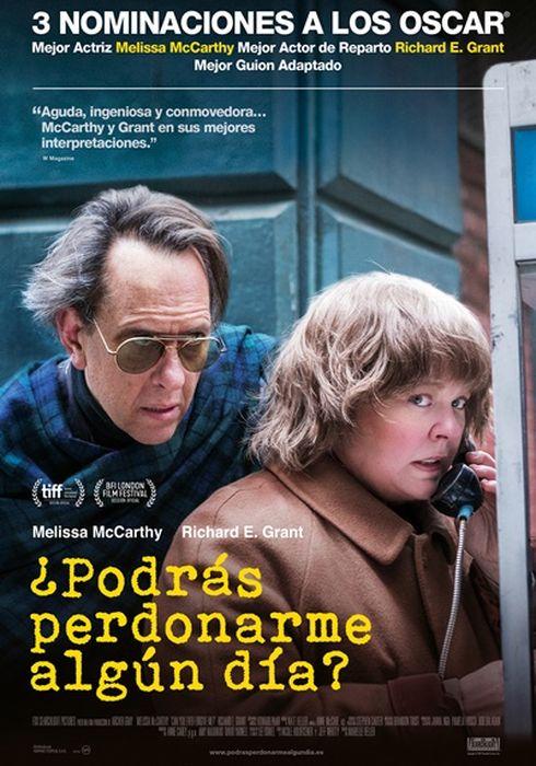 Cartel oficial en español de: ¿Podrás perdonarme algún día?