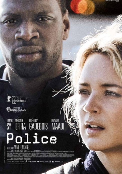 Cartel oficial en español de: Police