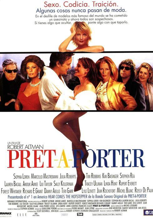 Cartel oficial en español de: Pret-a-porter