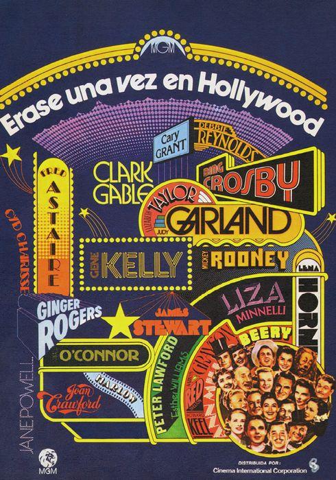 Cartel oficial en español de: Érase una vez en Hollywood