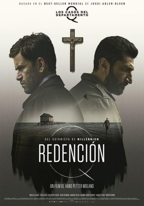 Cartel oficial en español de: Redención (Los casos del Departamento Q)