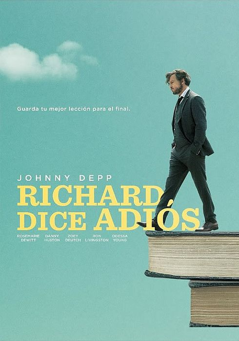 Cartel oficial en español de: Richard dice adiós