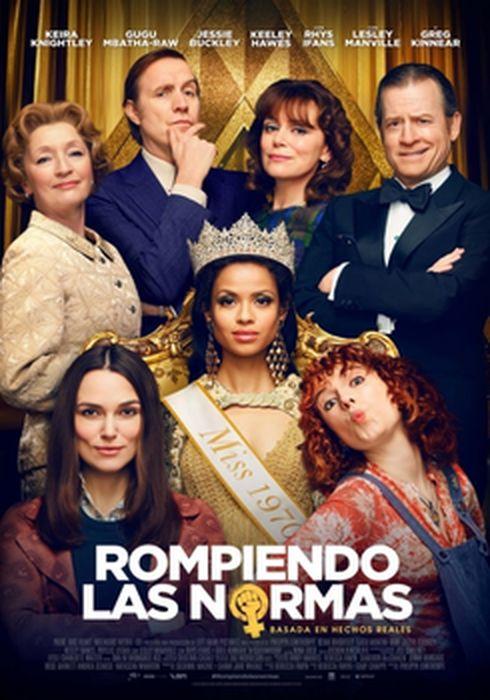 Cartel oficial en español de: Rompiendo las normas