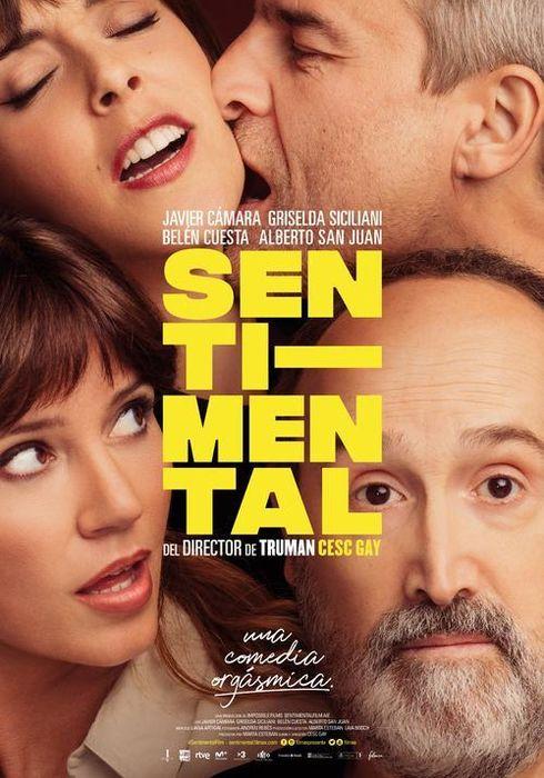 Cartel oficial en español de: Sentimental