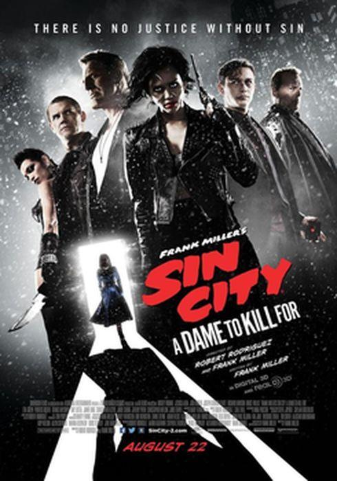 Cartel oficial en español de: Sin City: Una dama por la que matar
