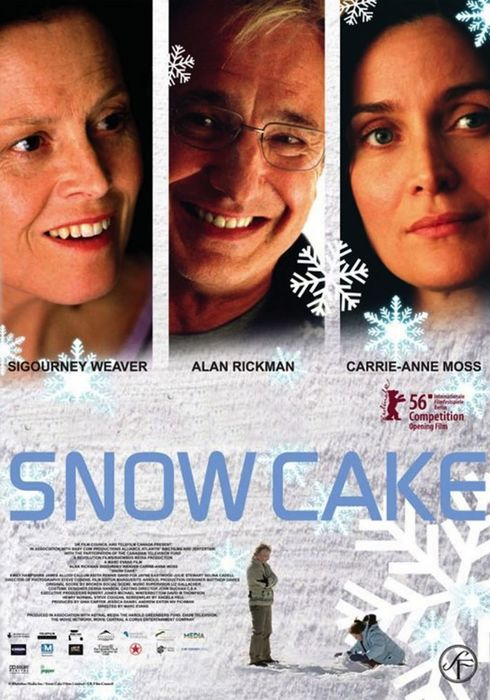 Cartel oficial en español de: Snow Cake