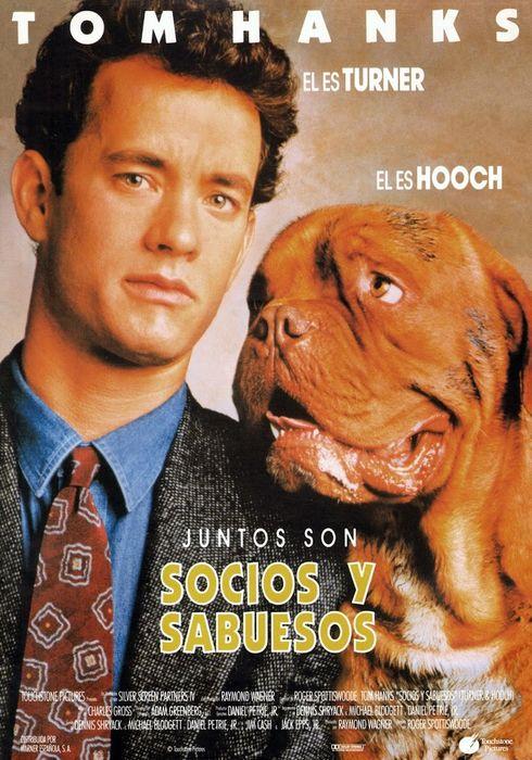 Cartel oficial en español de: Socios y sabuesos