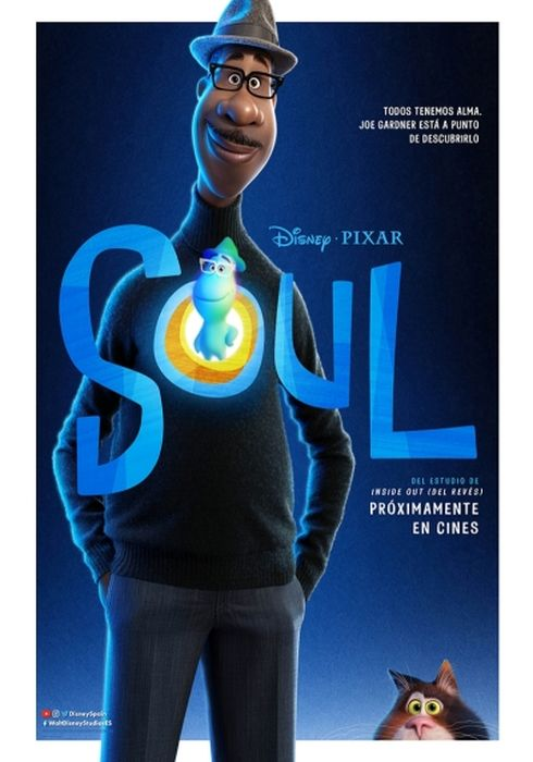Cartel oficial en español de: Soul