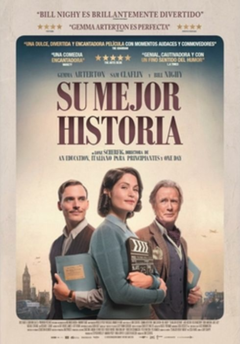 Cartel oficial en español de: Su mejor historia