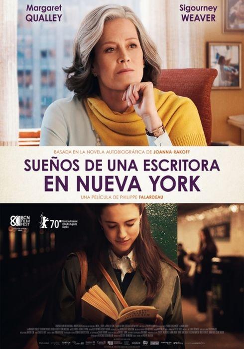 Cartel oficial en español de: Sueños de una escritora en Nueva York