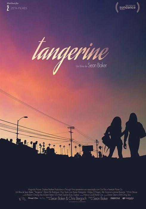 Cartel oficial en español de: Tangerine