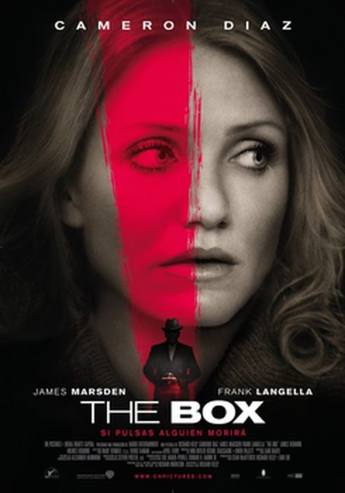 Cartel oficial en español de: The Box