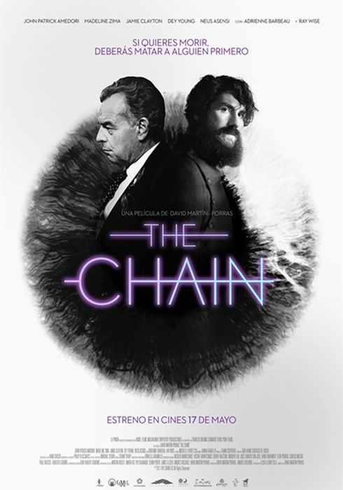 Cartel oficial en español de: The Chain
