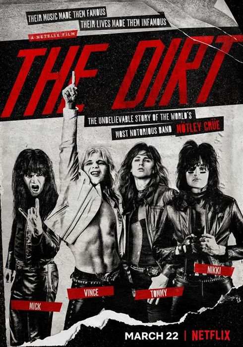 Cartel oficial en español de: The Dirt