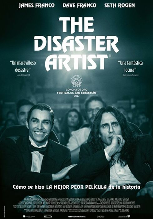 Cartel oficial en español de: The Disaster Artist