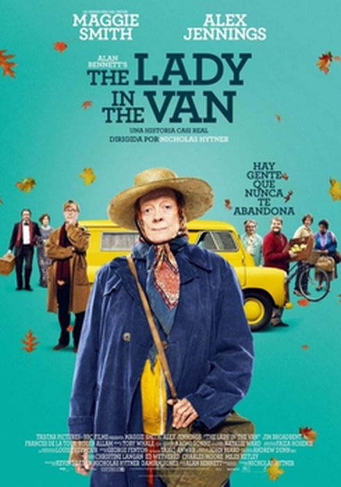 Cartel oficial en español de: The Lady in the Van