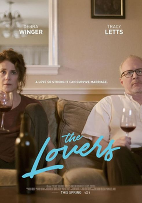 Cartel oficial en español de: The Lovers