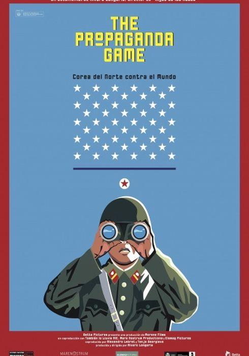 Cartel oficial en español de: The Propaganda Game