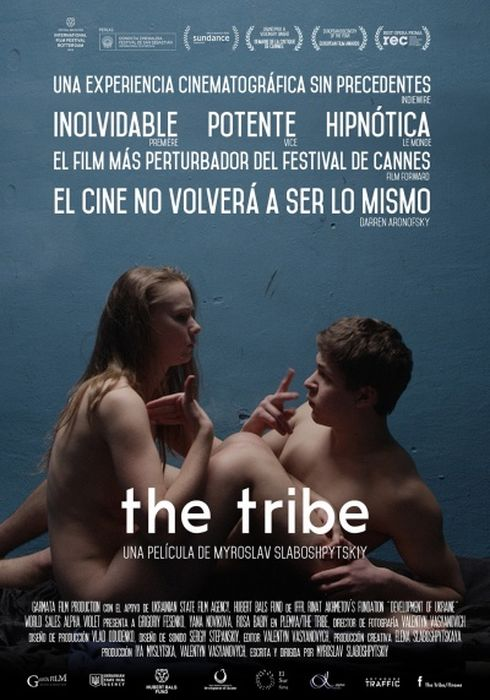 Cartel oficial en español de: The Tribe