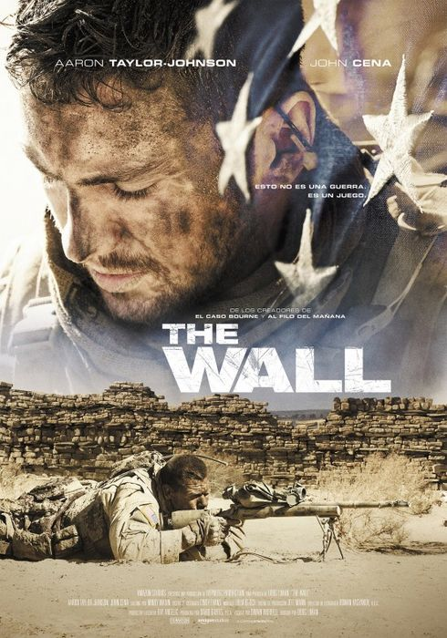 Cartel oficial en español de: The Wall