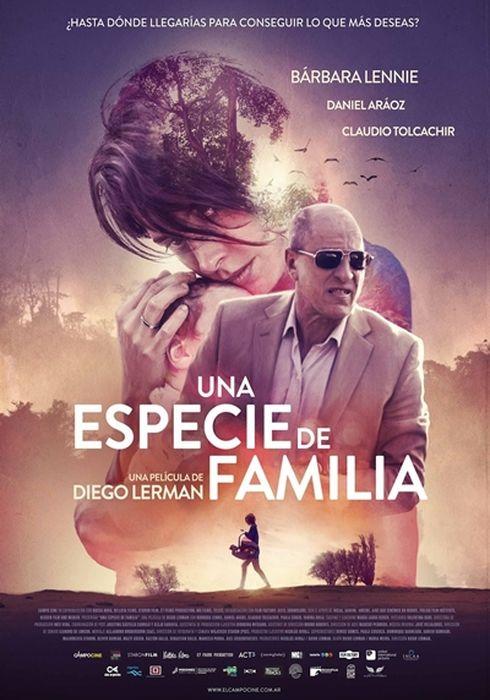 Cartel oficial en español de: Una especie de familia