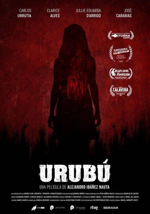 Cartel oficial en español de: Urubú