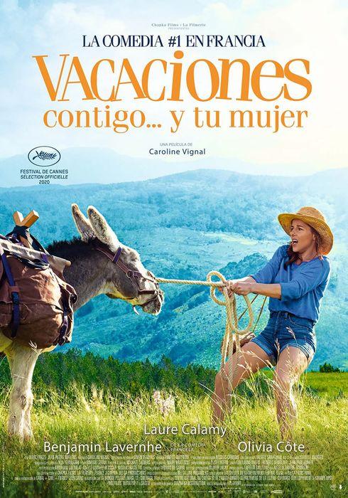 Cartel oficial en español de: Vacaciones contigo... y tu mujer