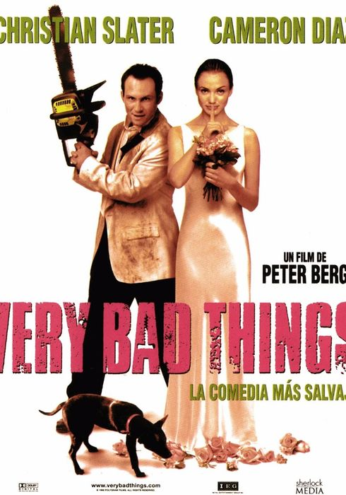 Cartel oficial en español de: Very Bad Things