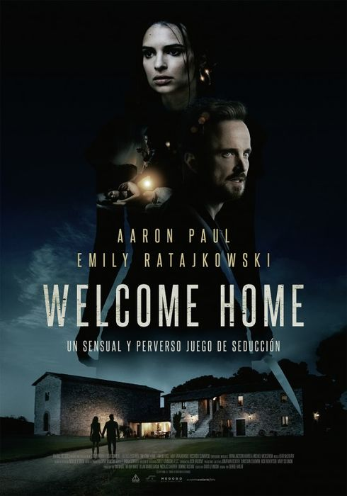 Cartel oficial en español de: Welcome Home