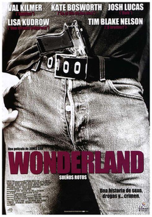 Cartel oficial en español de: Wonderland (sueños rotos)