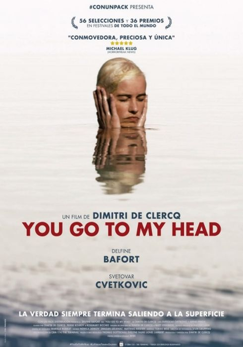 Cartel oficial en español de: You Go To My Head