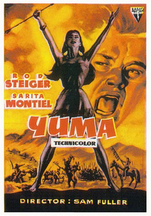 Cartel oficial en español de: Yuma