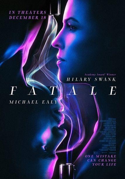 Cartel oficial en español de: Fatale