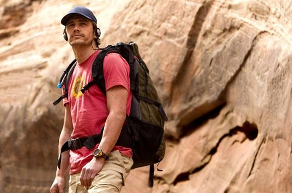 Aron Ralston (James Franco)