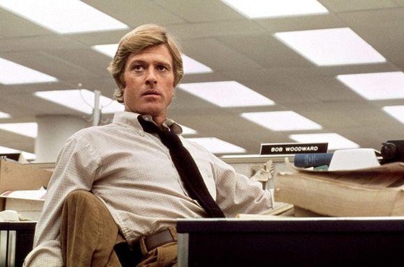 Robert Redford (como Bob Woodward)