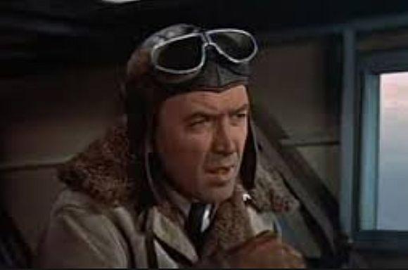 """Charles Augustus """"Slim"""" Lindbergh (James Stewart)"""