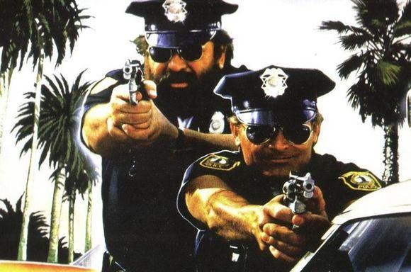 Terence Hill y Bud Spencer (Dos Súper policías - 1977)