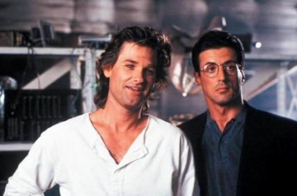 Sylvester Stallone y Kurt Russell (Tango y Cash - 1989)