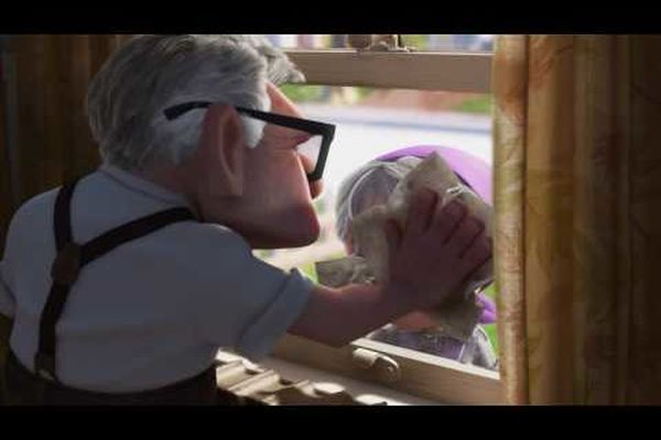 Disney Pixar Up - Married Life - Carl & Ellie by Michael Giacchino - The cut from BluRay disc