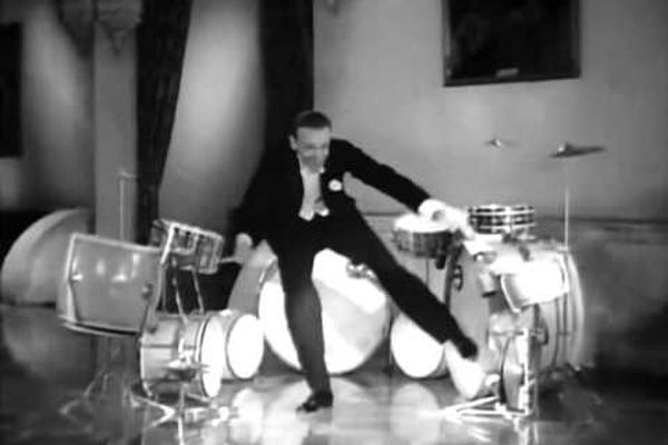 Fred Astaire's Best Scene - A Damsel in Distress