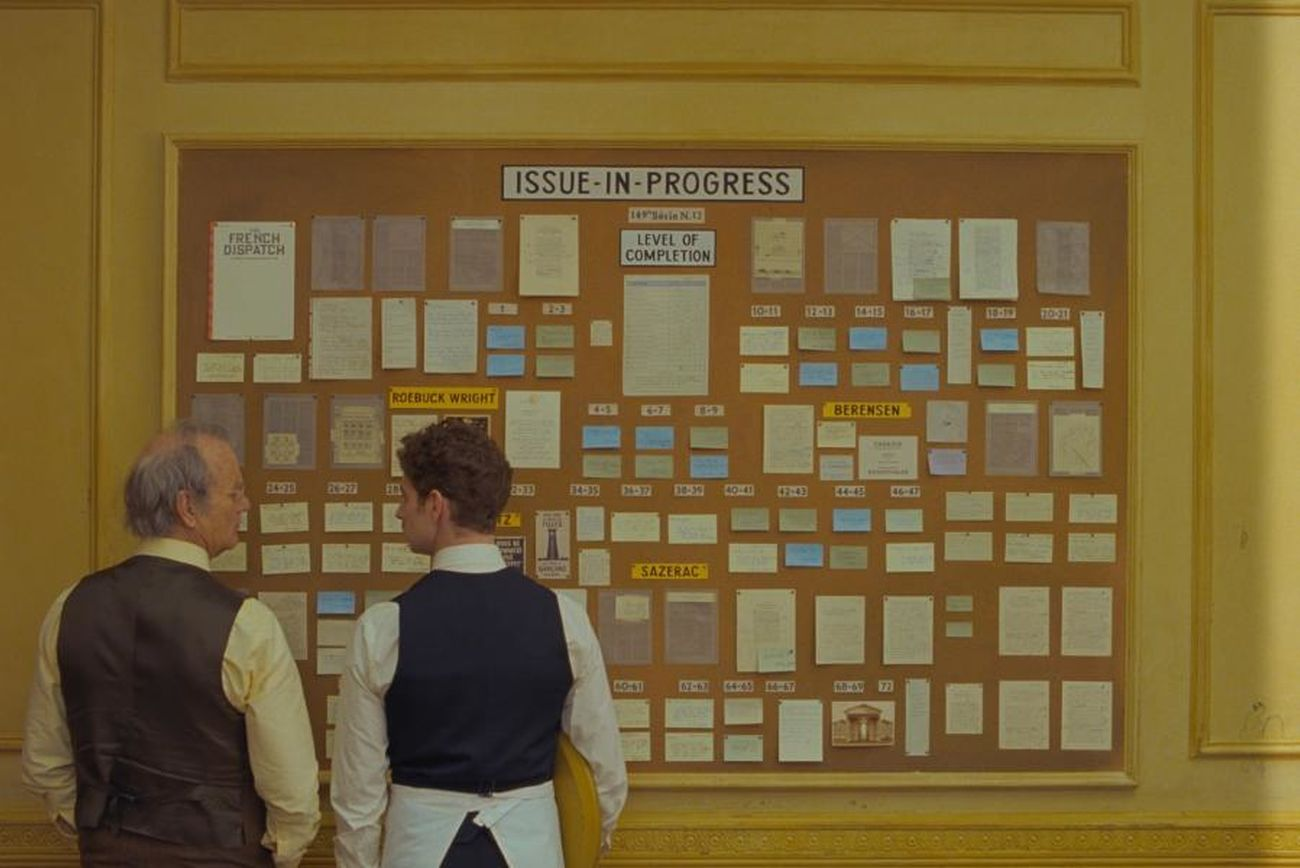 Primer Trailer de 'The French Dispatch', lo nuevo del gran Wes Anderson