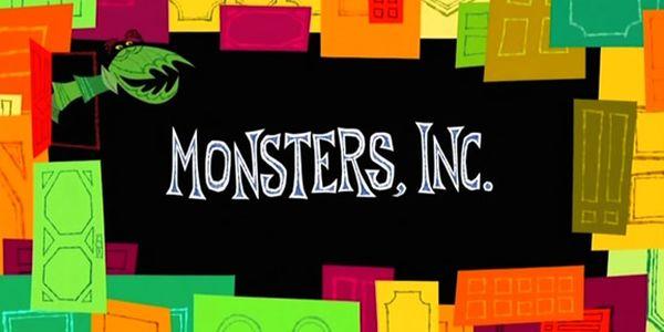 Imagen de los títulos de Monstruos, S.A.